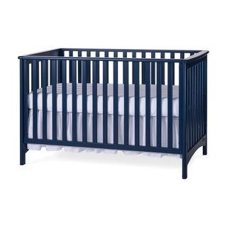 Child Craft Blue London Stationary 3-in-1 Crib