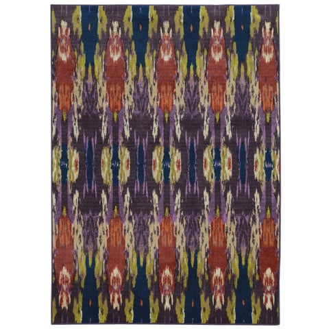 Pantone Universe Prismatic Nylon Blue/ Purple - 3'5 x 5'5