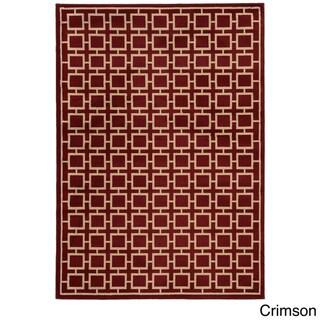 Geometric Square Lattice Rug (7'10 x 10')
