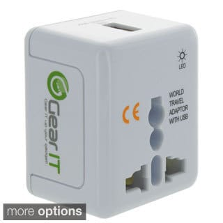 GearIt Universal Travel AC Adapter Wall Charger Converter Plug