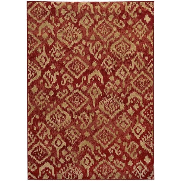 Tribal Ikat Rug - 6'7 x 9'6