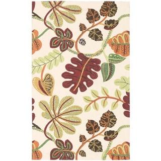 Waverly Art House A New Leaf Ivory Area Rug by Nourison (2'3 x 3'9)