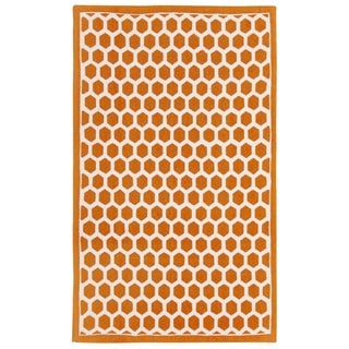 Waverly Art House Symmetry Tangerine Area Rug by Nourison (2'3 x 3'9)