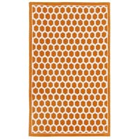 Waverly Art House Symmetry Tangerine Area Rug by Nourison - 2'3 x 3'9