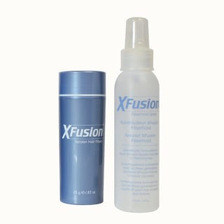 XFusion 2-piece Keratin Fibers Plus Fiberhold Spray Kit