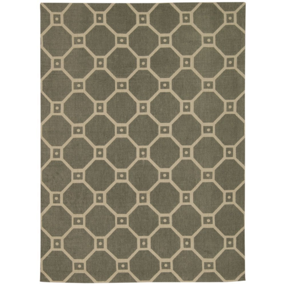 Waverly Color Motion Ferris Wheel Stone Area Rug by Nouri...