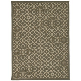 Waverly Color Motion Lovely Lattice Stone Area Rug by Nourison (5' x 7')