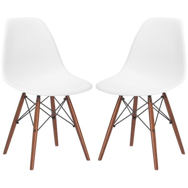 vortex dining side chair in walnut legs set of 2 cherner side chair csc05