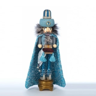 Link to Kurt Adler 18-Inch Hollywood Turquoise King Nutcracker Similar Items in Decorative Accessories