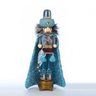 Kurt Adler 18-inch Hollywood Turquoise King Nutcracker