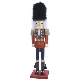 Kurt Adler 36-inch Hollywood Nutcracker with Traditional Colors
