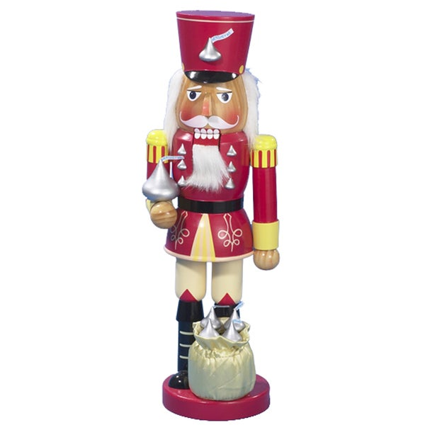 Kurt Adler 14-inch Hershey Kisses Soldier Nutcracker
