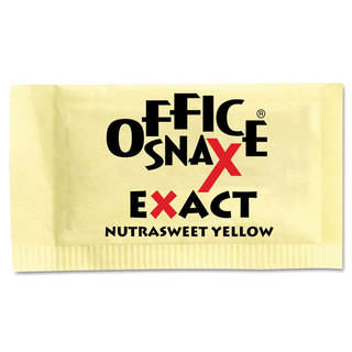 Office Snax Nutrasweet Yellow Sweetener (Carton of 2000 Packs)