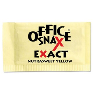Office Snax Nutrasweet Yellow Sweetener (Carton of 2000 Packs)
