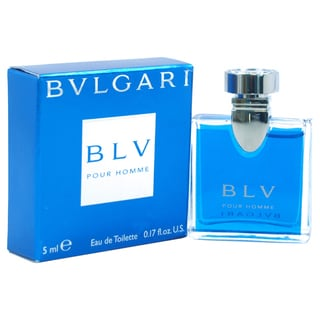 Bvlgari Blv Men's 0.17-ounce Eau de Toilette Spray