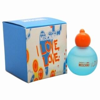 Moschino I Love Love Cheap and Chic Women's 0.17-ounce Eau de Toilette Splash