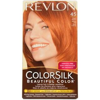 Revlon Colorsilk Beautiful Color #45 Bright Auburn Hair Color
