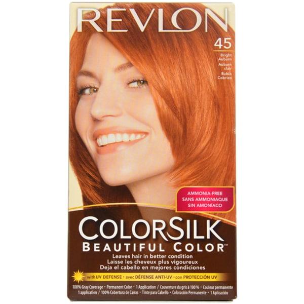 Revlon Colorsilk Beautiful Color 45 Bright Auburn Hair