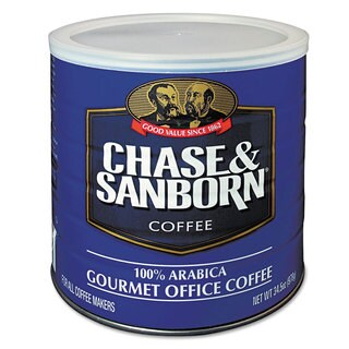 Chase & Sanborn 34.5-ounce Regular Coffee Can