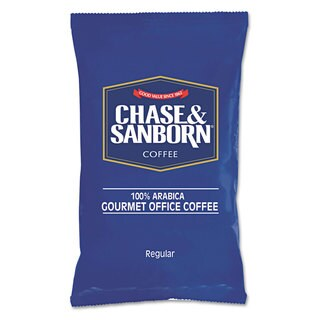 Chase & Sanborn Regular Coffee 1.25-ounce Packets (Box of 42)