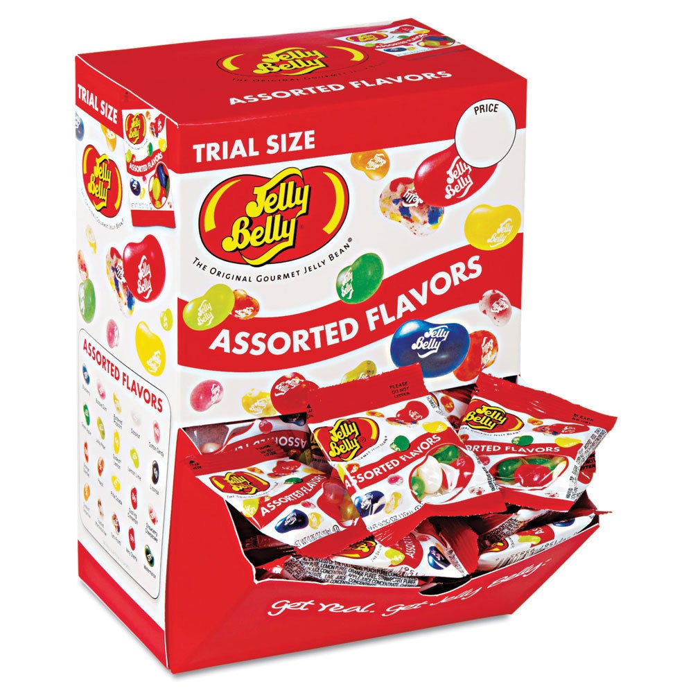JELLY Belly Jelly Beans Assorted Flavors Dispenser Box (2...