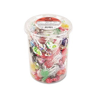 Office Snax Top o' the Line Pops Candy 3.5-pound Tub