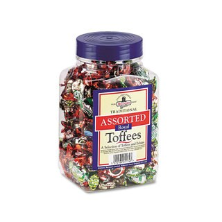 Walker's Nonsuch Assorted Toffee 2.75-pound Plastic Tub