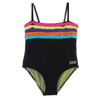 Azul Swimwear Girl Chasing Rainbows One-piece Swimsuit (More options available)