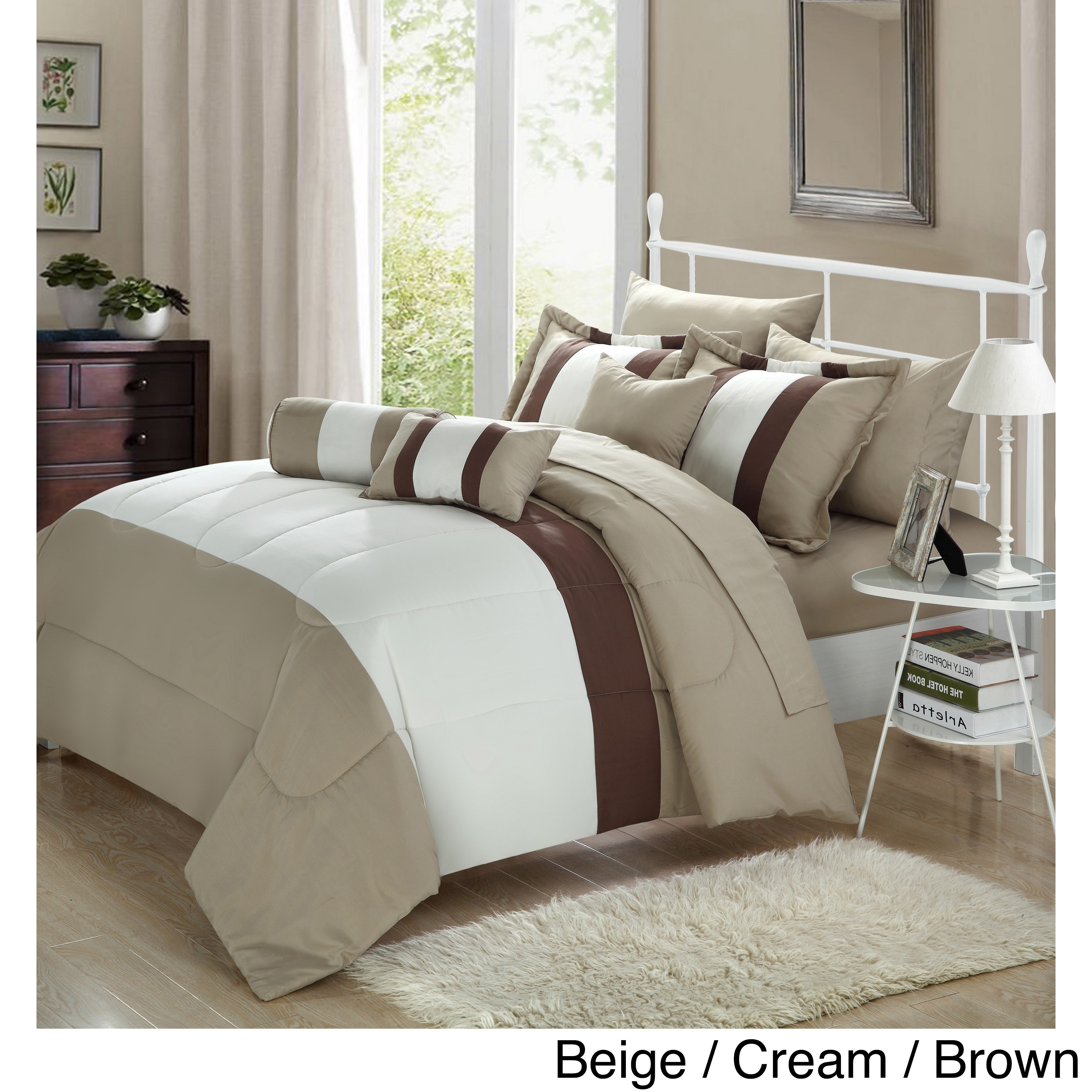Size king brown comforter sets find great fashion bedding deals shopping at overstock com
