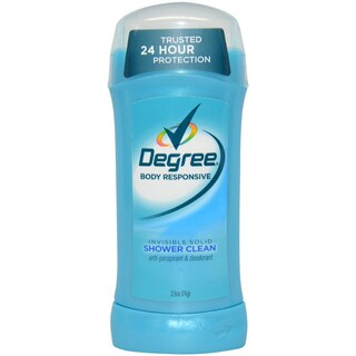 Degree Shower Clean Invisible Solid Women's 2.6-ounce Deodorant Stick