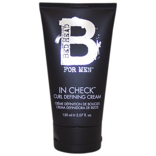 TIGI Bed Head B For Men In Check Curl Defining Men's 5.07-ounce Cream