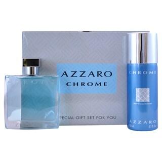 Loris Azzaro Chrome Men's 2-piece Fragrance Set