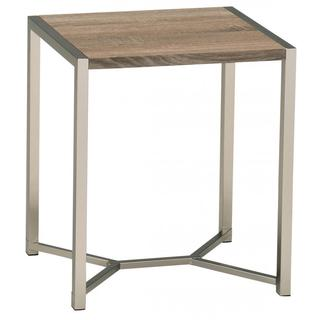 Cosmos 20-inch Reclaimed Accent Table