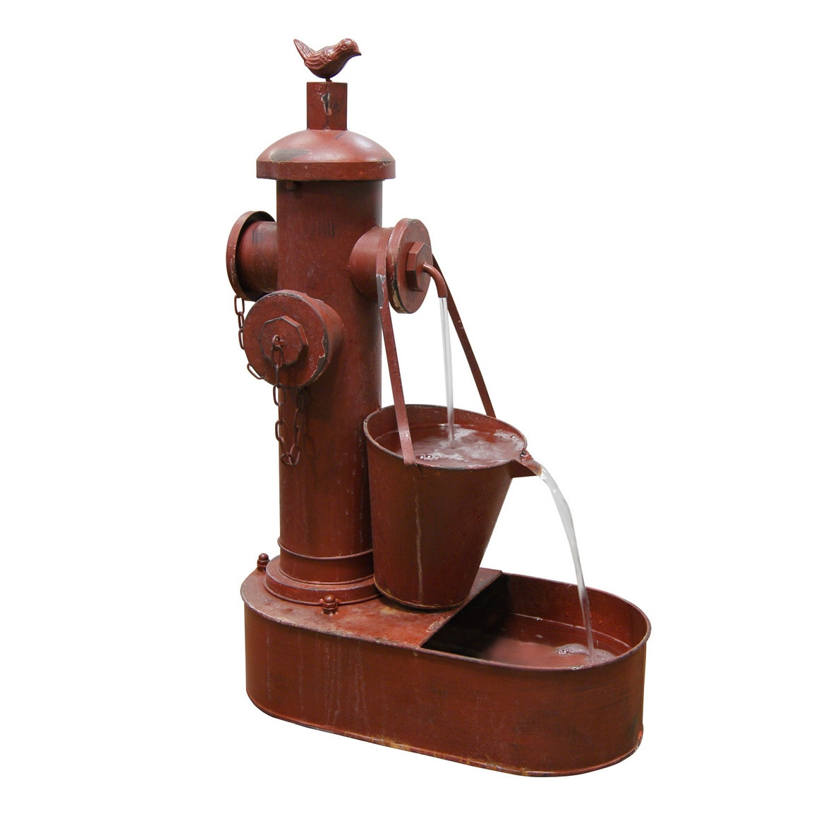 Alpine Fire Hydrant Tiering Fountain (See description), R...