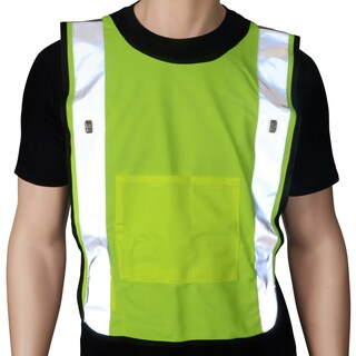 Safeways Neon Yellow LED Power Safety Vest