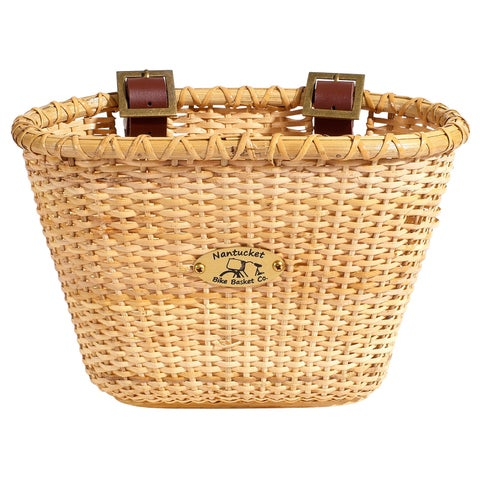 Nantucket Lightship Children's Oval Bicycle Basket