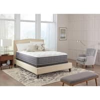 Spring Air Premium Collection Noelle Plush Full-size Mattress Set - White