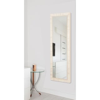 American Made Rayne Tuscan Ivory 25 x 63-inch Full Body Mirror