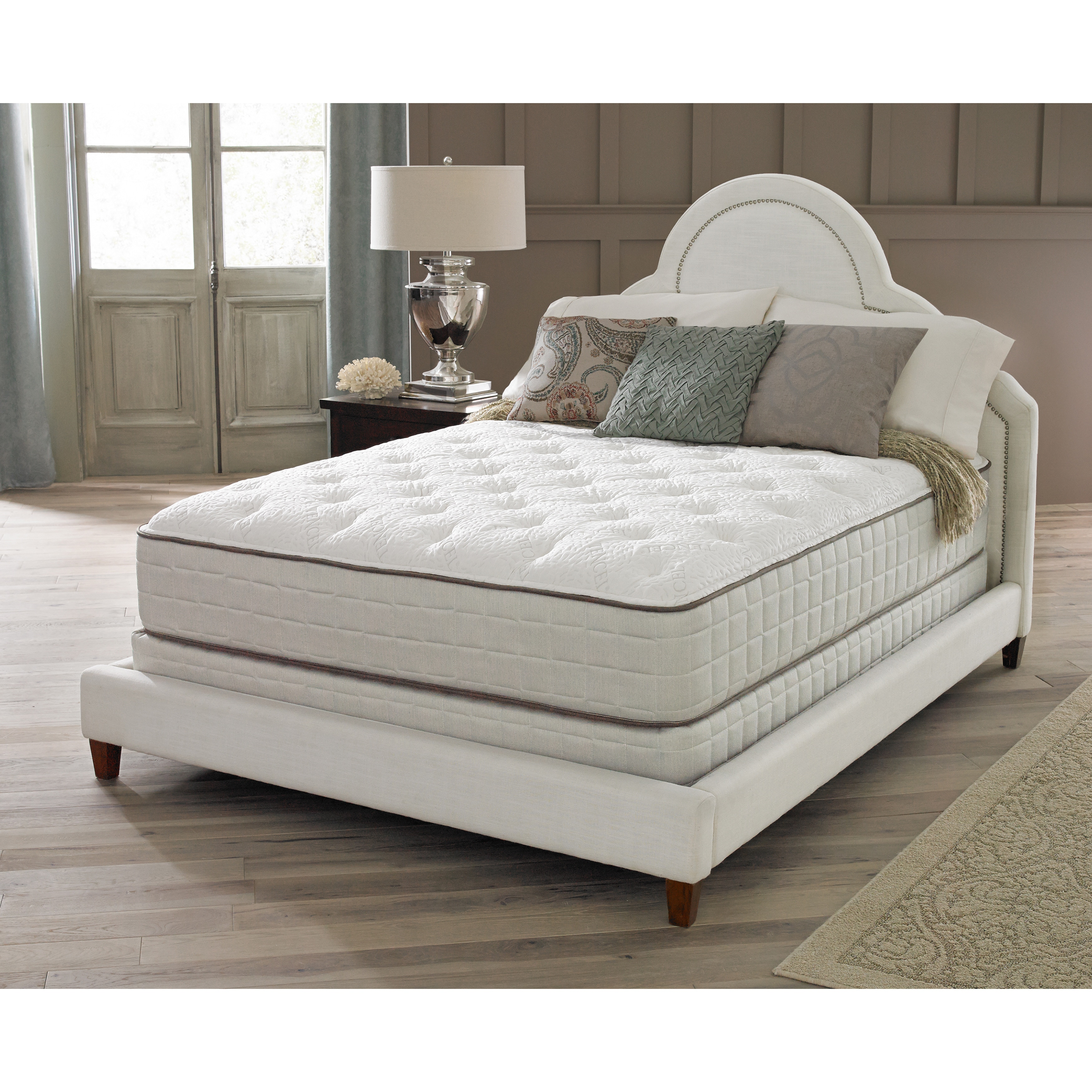 Spring Air Premium Collection Noelle Plush King-size Matt...