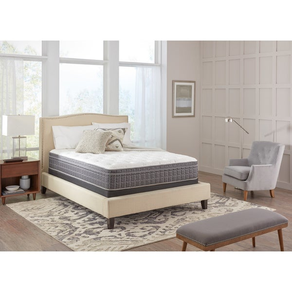 Spring Air Premium Collection Antoinette Pillow Top King-size Mattress Set - White