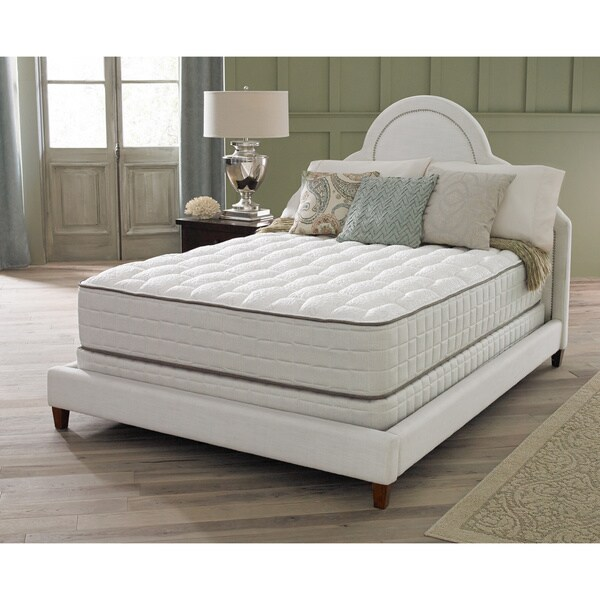 spring air premium collection antionette firm full size mattress set free shipping today. Black Bedroom Furniture Sets. Home Design Ideas