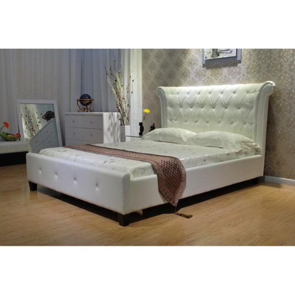 Shop California King Upholstered Bed Overstock 9514094