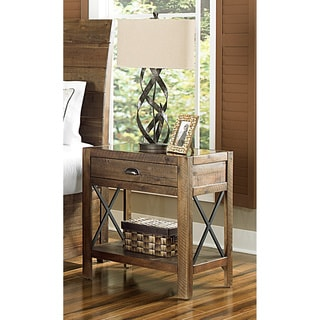 Magnussen B2375 River Ridge Wood Open Nightstand