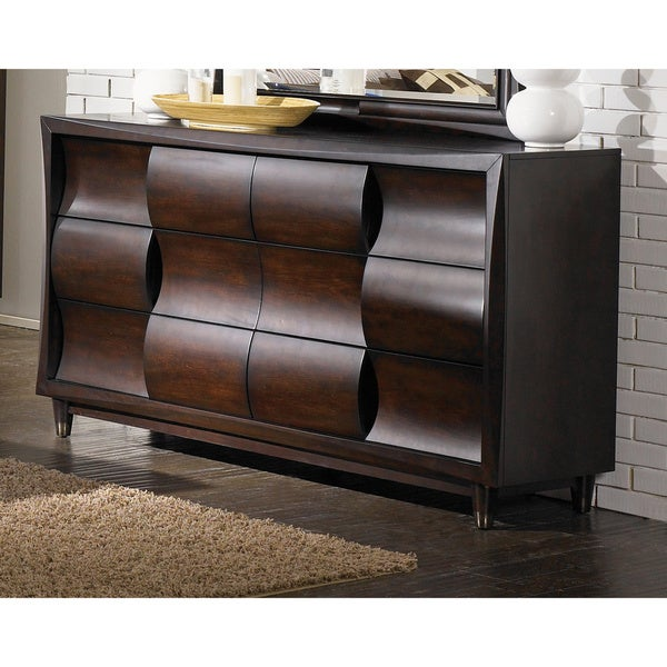 Shop Magnussen Fuqua Wood 6 Drawer Dresser On Sale Free Shipping Today 9514264