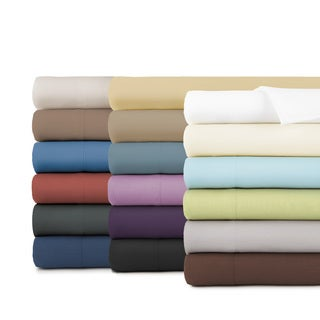 Comfortable Extra Deep Pocket 4 Piece Sheet Set With 2 Bonus Pillowcases