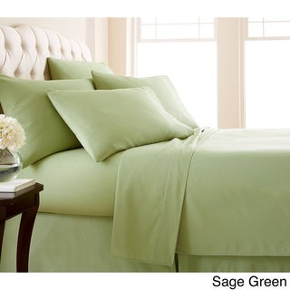 Vilano Series Ultra Soft Extra Deep Pocket 6-Piece Sheet Set (King - Sage Green)