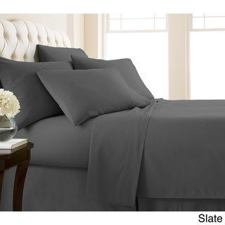 Vilano Series Ultra Soft Extra Deep Pocket 6-Piece Sheet Set (California King - Slate)