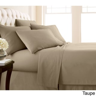 Vilano Series Ultra Soft Extra Deep Pocket 6-Piece Sheet Set (Queen - Taupe)
