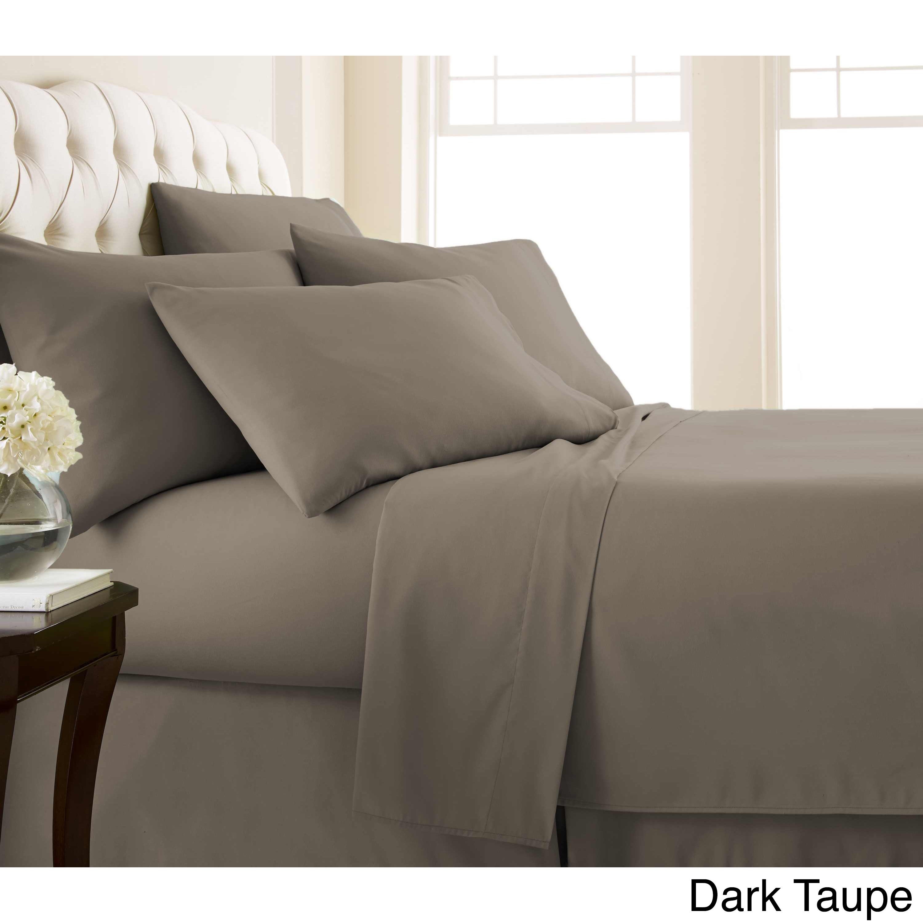 4b9606e90e65 Shop Vilano Series Ultra Soft Extra Deep Pocket 6-Piece Sheet Set - On Sale  - Free Shipping On Orders Over $45 - Overstock - 9514271