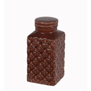 Small Ceramic Jar with Lid